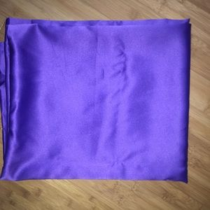 Purple curtain set (2 curtains)